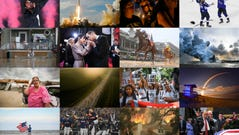 Collage of a selection of photos featured in the USA