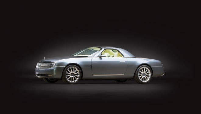 This 2004 Lincoln Mark X concept made its debut at the Detroit auto show