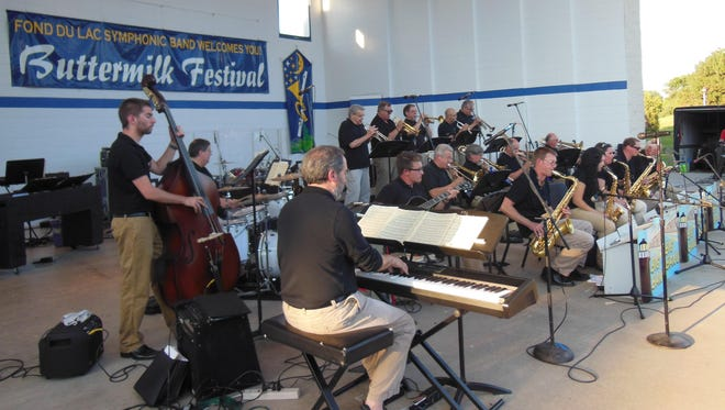 The Lighthouse Big Band will perform at Buttermilk Creek Park.