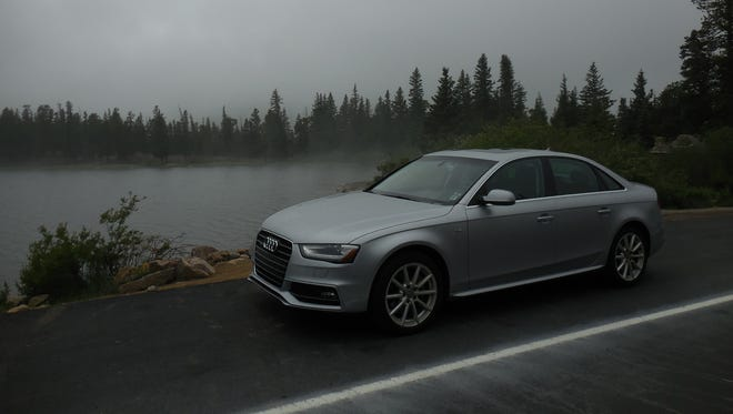 A Silvercar Audi A4 comes with free satellite radio and Wi-Fi