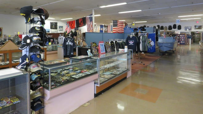 There are more than  60,000 items at the Southwest Florida Military Museum & Library.