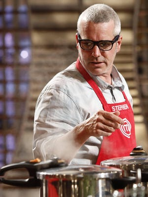 Contestant Stephen Lee of Palm Springs is on MasterChef airing Wednesday on FOX.
