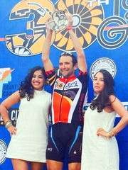 Fortunato Ferrera stood on the podium last May, holding