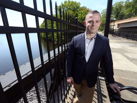 Jack Gebbia, a Boonton resident running for Congress