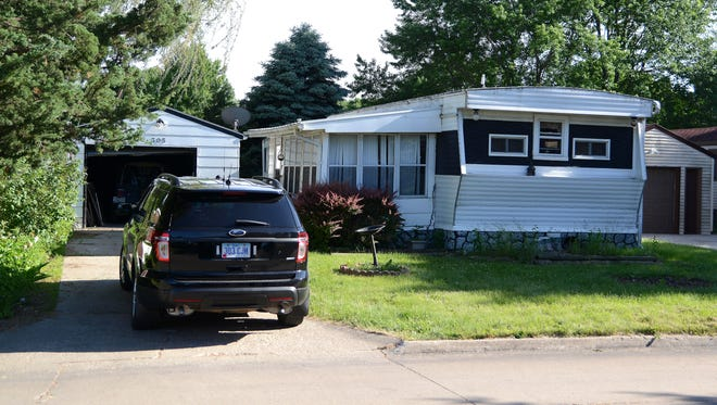 Police investigate two deaths at305 Harvest Park in the Autumn Ridge community, a mobile home park in Ankeny.
