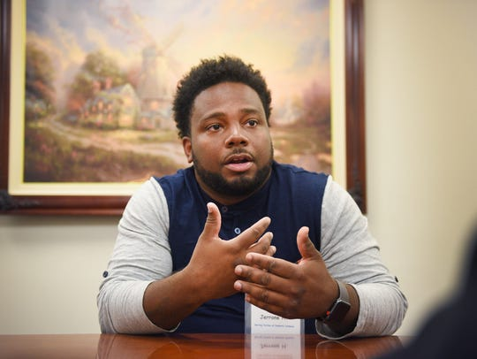 Youth Care Provider Jerrone Holmes talks about his
