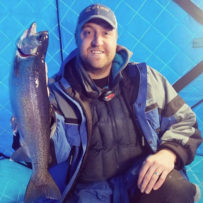 Fishing for trout on sovereign nation waters