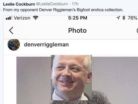 Funny: Accused 'Bigfoot erotica' devotee elected to House in Virginia 636685474935784873-Screen-Shot-2018-07-30-at-11.37.14-AM