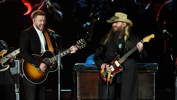 Justin Timberlake and Chris Stapleton, making our hearts
