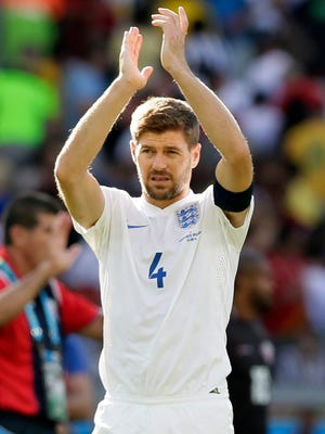 Gerrard made his England debut in 2000.