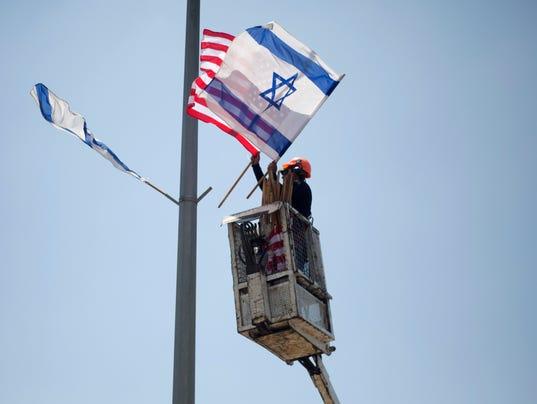 AP ISRAEL US TRUMP I ISR
