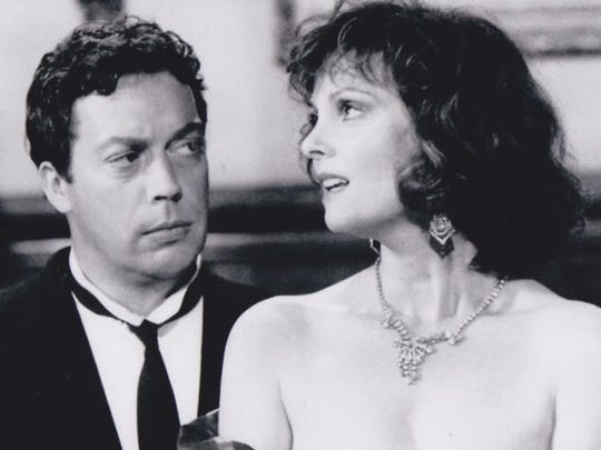 """Tim Curry and Lesley Ann Warren star in """"Clue"""" (1985)."""