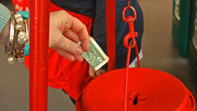 There will be a total of 64 Salvation Army kettle locations in Brevard County this Christmas season.