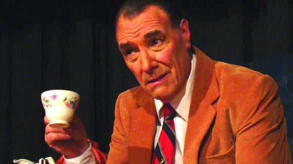 David Payne plays author CS Lewis in a one-man show.
