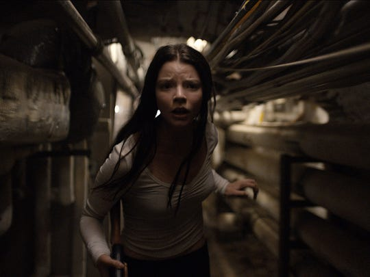 Casey (Anya Taylor-Joy) attempts to escape captivity