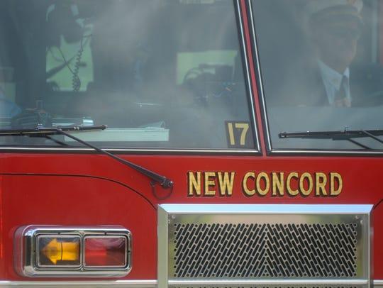 ZAN New Concord fire stock