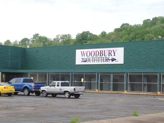 The former Woodbury Outfitters building at 739 S. Second St. sold at auction for $420,000. 17 individuals were bidding on the property, and the name of the winner bidder has not been released.