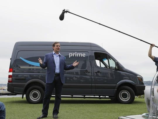 Online retailer Amazon is creating its own delivery