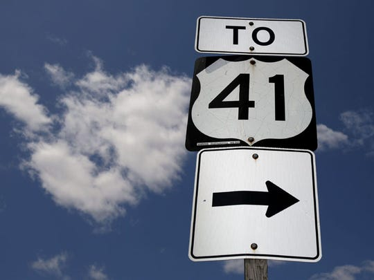 There will be no construction work on U.S. 41 near Lambeau Field on Sunday, but  lanes and shoulders may be narrower than usual and speed limits lower than usual.