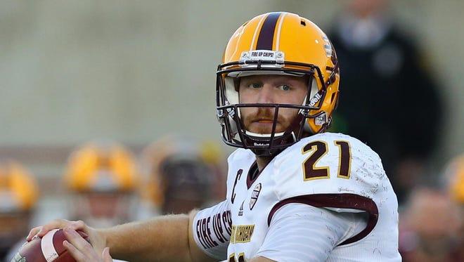 Central Michigan quarterback Cooper Rush