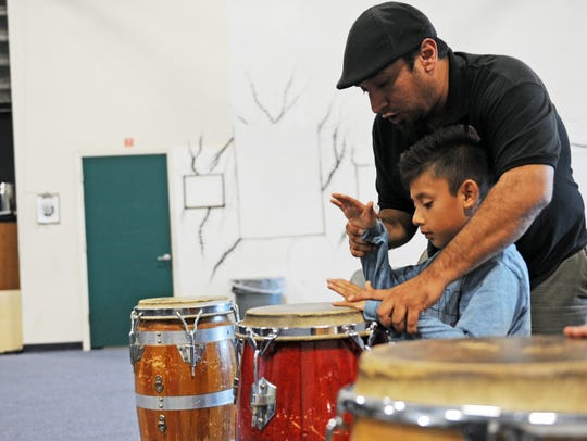 Drumming involves a number of fine motor skills, being