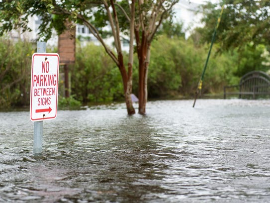 Flooding in Bethany Beach consumes Pennsylvania Ave