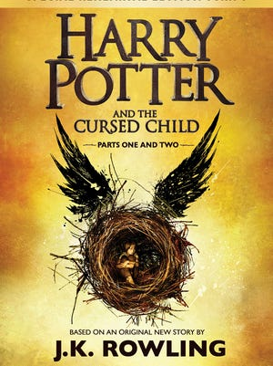 'Harry Potter and the Cursed Child' by J.K. Rowling, John Tiffany and Jack Thorne is available in the U.S. on July 31.