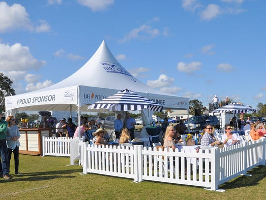 The new VIP Polo Lounge is a luxurious amenity to the