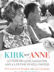 The cover of 'Kirk and Anne: Letters of Love, Laughter,