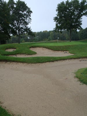 Hole No. 7 at Thornapple Pointe golf course in Grand Rapids