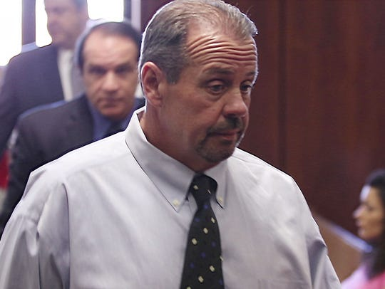 John Lehmann appears in court. Former Holbrook Little