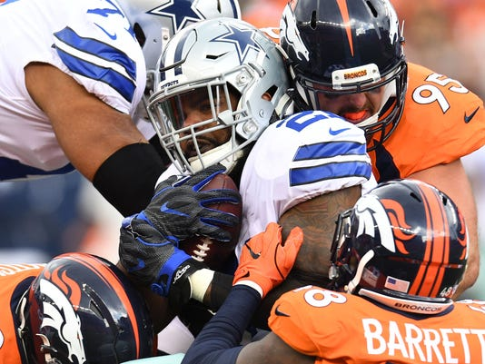 USP NFL: DALLAS COWBOYS AT DENVER BRONCOS S FBN DEN DAL USA CO