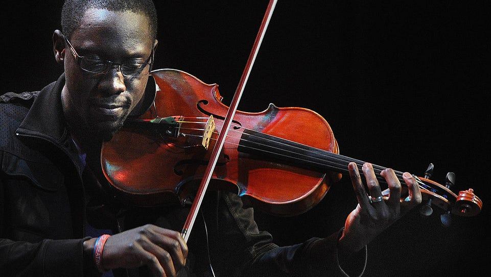 Florida duo Black Violin — Wil Baptiste (pictured)