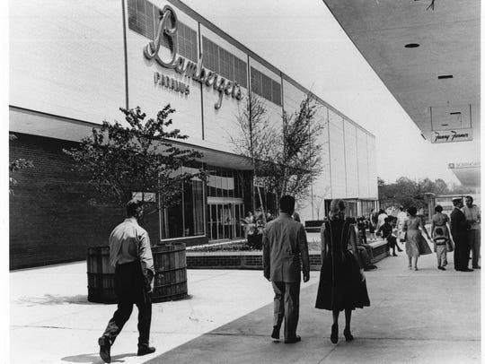 Bamberger's department store at the Garden State Plaza.