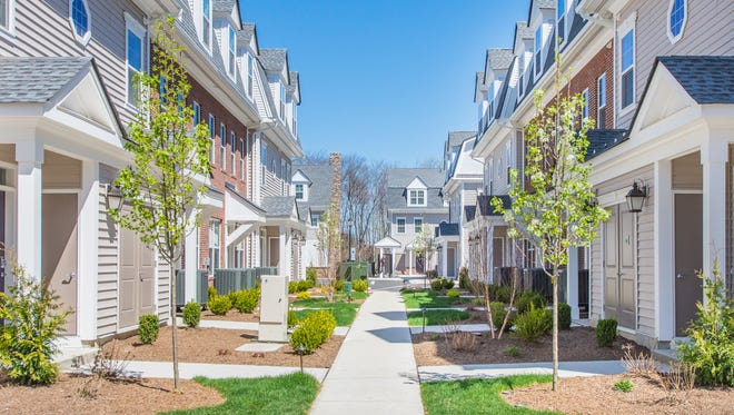 Estling Village, a luxury rental community in Denville, offers convenience, townhome-style living and onsite ammenities, including a clubhouse.