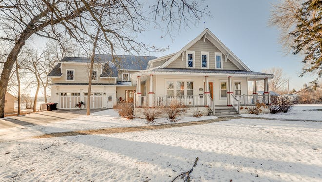 The home at 204 Fourth St. NE in Melrose is listed for $699,900 by Central MN Realty agent Matt Imdieke.