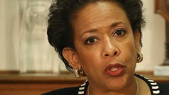 Attorney General Loretta Lynch speaks about the recent