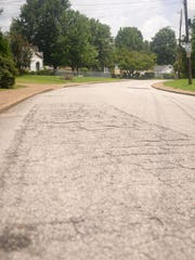 Residents on Hillcrest Circle are hoping for the city to soon repave the street.