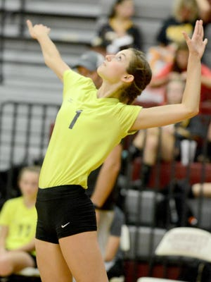 Camden's Jordan Vick started playing varsity volleyball in the fourth grade.