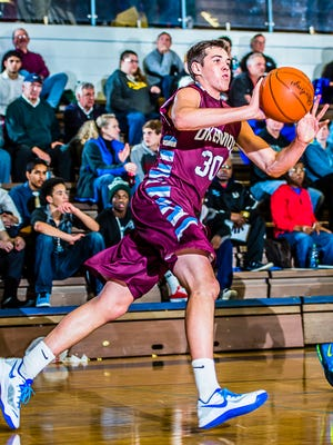 Conner George averaged 23 points and 10.6 rebounds for Okemos.