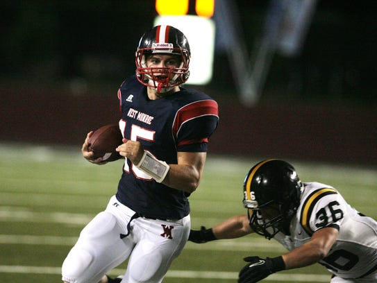 In this 2012 file photo, former West Monroe quarterback