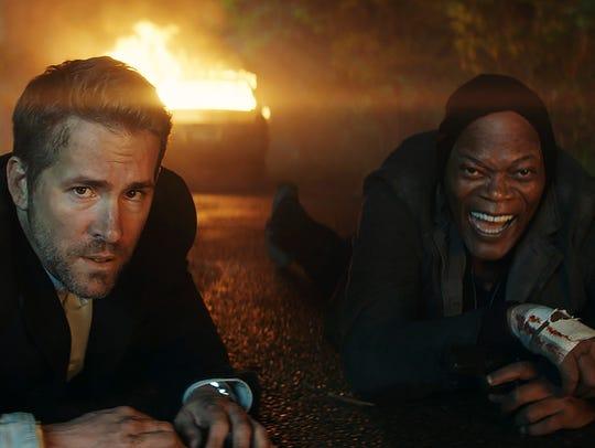 "Ryan Reynolds and Samuel L. Jackson star in ""The Hitman's"