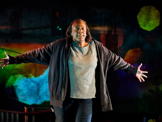 "In ""Until the Flood,"" Dael Orlandersmith portrays multiple"