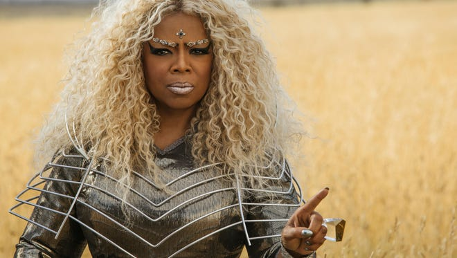 Oprah Winfrey in full costume as Mrs. Which in 'A Wrinkle in Time.'