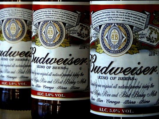 Anheuser-Busch InBev, the maker of Budweiser and Corona