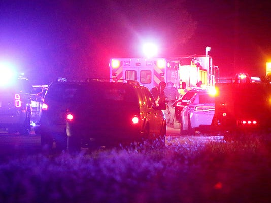 Reports: Collision between vehicle, train