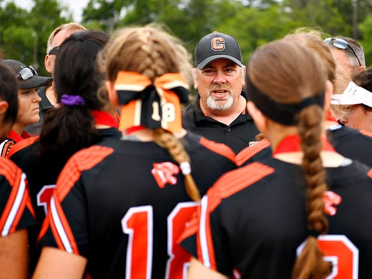 Central York vs Central Dauphin District 3, Class 6-A softball championship