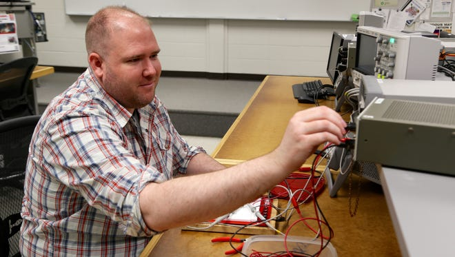 Fox Valley Technical College graduate David Nessler is working in electronics and communications with the Canadian Pacific Railroad.
