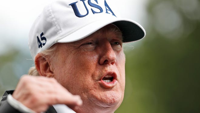 President Donald Trump opened a meeting with nine House Democrats and five House Republicans by telling them to pass legislation on dreamers by linking it to increasedborder security. according to U.S. Reps. Kyrsten Sinema and Martha McSally.