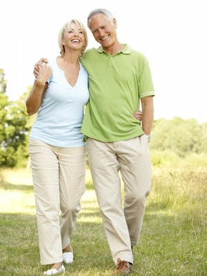 Walking is the only form of exercise in which the number and percentage of participants increases with age.